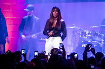 Kelly Rowland Performs at NYC Courvoisiology Lab