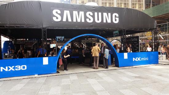 Samsung DitchDay Exterior